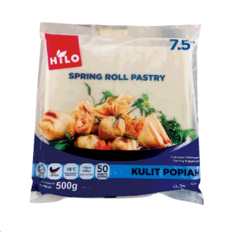 """Hilo Spring Roll Pastry 7.5"""""""